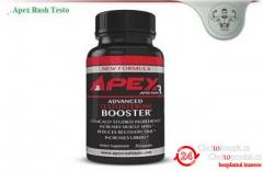 Increase your Stamina And Power with Apex Rush Testo